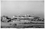 "PHOTO  Bateau Identifié "" Mona Lisa "" échoué Alf Torgesen Oslo 1936 Cap D Ailly 1950   Norvège  Transport Maritime Mer - Bateaux"
