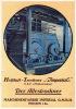 Prospectus Publicitaire (années 20) - MASCHINENFABRIK IMPERIAL MEISSEN - Publicités