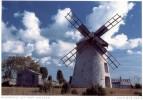 Sverige  -  Insel Farö - Historische Windmühle  -  Län Gotland - Suède