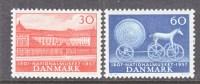 DENMARK  363-4   *  SUN  GOD  CHARIOT - Denmark