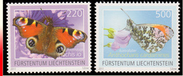 Liechtenstein 1533/34** Papillons III  MNH