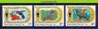 Mwe2134 FAUNA VOGELS PAPEGAAI DUIF BIRDS PIGEON HUMMINGBIRD PARROT VÖGEL AVES OISEAUX DOMINICA 1969 PF/MNH - Kolibries