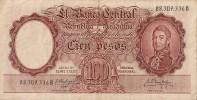 Billets - Argentine - 100 Pesos - - Argentine