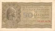 Billets - Argentine - 50 Centavos - Non Circulé - - Argentine