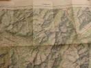 Carte Au 1/100 000 Type 1922 De Chamonix (74). - Cartes Géographiques