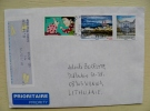 Cover Sent From France On 2015 Atm Machine Stamp Rabbit Macon - France