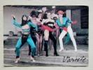 Calendar From Latvia 1990 Woman Variete - Kalender