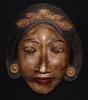 ART ANCIEN INDONESIE MASQUE DE FEMME JAVA BALI - Aziatische Kunst