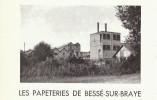 Vers 1955 - Rare Iconographie - Bessé-sur-Braye (Sarthe) - L'usine De Papeterie - FRANCO DE PORT - Vieux Papiers