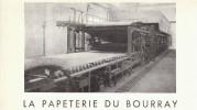 Vers 1955 - Rare Iconographie - Saint-Mars-la-Brière (Sarthe) - La Papeterie Du Bourray - FRANCO DE PORT - Non Classés