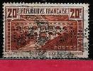 Perfin  Y.T N° 262    Perfore  DMC 84   Indice  1  Sur Pont Du Gard - France