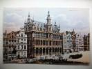 Carte Postale Belgique Bruxelles Maison Du Roi (oblitérée 1908 Voir Timbre) - Monumenten, Gebouwen