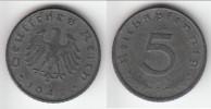 **** OCCUPATION - ALLEMAGNE - GERMANY - 5 REICHSPFENNIG 1947 D - 3ème REICH - THIRD REICH - ZINC **** EN ACHAT IMMEDIAT - 5 Reichspfennig