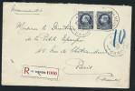 BELGIQUE - Enveloppe En Recomandée Pour La France En 1923 -  A Voir - Lot P12689 - België