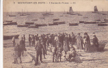 14. GRANDCAMP LES BAINS. N 9.  L ARRIVEE DU POISSON.   CPAA AN 1930. - Autres Communes