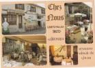 CPM Restaurant Chez Nous, salon de th�, glacier - Limetz-Villez - carte pliante