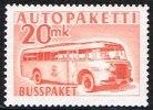 1952-1958. Mail Bus. 20 Mk. Orange. (Michel: 7) - JF157179