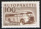 1952-1958. Bus. 100 Mk. Brown. (Michel: 9) - JF157181