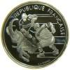 FRANCIA 100 FRANCS 1991 XVI JEUX OLUMPIQUES D´HIVER ALBERTVILLE 1992 AG SILVER PROOF - Commemorative