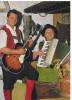 25296 Autriche Musicien Folklore Accordeon Guitare -Haidinger Austria - - Musique Et Musiciens