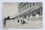 Old France Postcard - Le Grand Hotel - Font Romeu - Pyrenees Orientales - La Terrasse Et Patinoire - Animee - Rare - Francia