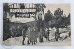 Old France Postcard - Le Grand Hotel - Font Romeu - Pyrenees Orientales - Piste De Bob Arrivee - Animee - Rare - Francia