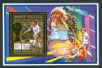 "1994 Madagascar ""Etats Unis"" Coppa Del Mondo World Cup Calcio Football Gold Printed MNH** B611 - World Cup"