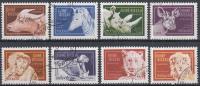 Guinea-Bissau - Dieren/Tiere/Animals/Animaux - Gebruikt/gebraucht/used - M 1096-1103 - Guinea-Bissau