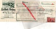 33 - PODENSAC-BORDEAUX- TRAITE LILLET FRERES -KINA - 1951 - Portugal