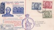 Australia 1946 Mitchell Registered FDC - FDC