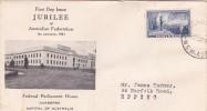 Australia 1951 Jubilee Of Australian Federation FDC - FDC