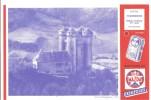 Buvard. MAZDA Boitiers Et Piles MAZDA Buvard N°45 Cantal Tournemire Château D'Anjony XV ème Siècle - Electricité & Gaz
