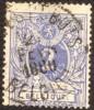 """n�27 MET ZEER ZELDZAME EC """"POSTES-REBUTS -BELGIQUE 27 FEVR 1880"""