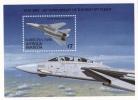 BARBUDA Sc# 1045 MNH  AIRCRAFT F-14 TOMCAT OVPT BARBUDA MAIL  (1989) - Antigua E Barbuda (1981-...)