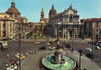 Catania, Cathedral Square, Piazza Duomo, Place Du Dome, Domplatz - Catania