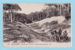 ARCACHON  1924  -- Excursion En Forêt - Route De La Laiterie - Arcachon
