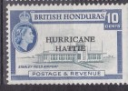 HONDURAS BRITANNIQUE 1962 167 Surchargé ** AEROPORT - British Honduras (...-1970)