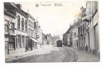 Poperinge Yperstraat Rue d'Ypres stoomtram edit Nels uitgave Sansen Vanneste 1919