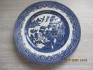 """Belle Assiette En Camaïeu Bleu -décor Chinois - """"Churchill """" - Churchill"""