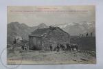 Old France Postcard - Les Pyrenees - Luchon - Excursion De Venasque - Le Refuge Et Partie Gauche Du Massif Monts Maudits - Francia