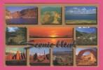 C-P-M-(Amerique)Etas-Unis--Utah - Scenic Utah .Top Row: Flaming George;Copper Mine;........ - Autres