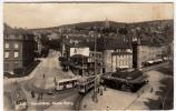 NEUCHATEL - PLACE PURRY - 1953 - TRAM - FILOBUS - Vedi Retro - Formato Piccolo - NE Neuchâtel