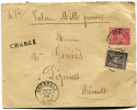 FRANCE LETTRE CHARGEE AFFRANCHIE AVEC UN N°89 ET UN N°98 DEPART GRENOBLE 18 MARS 99 ISERE POUR LA FRANCE - Marcophilie (Lettres)