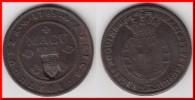 QUALITY **** ANGOLA - PORTUGAL - 2 MACUTA (1837) 1785 MARIA I - CONTREMARQUE - COUNTERMARKED**** EN ACHAT IMMEDIAT !!! - Angola