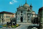 TORINO  LA  CHIESA DI  MARIA  AUSILIATRICE E  LA  PIAZZA     (VIAGGIATA) - Churches