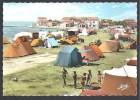 FOS - Le Camping Et La Plage St Gervais  - Format 148 X 103 Mm - France