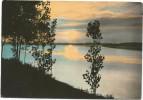 Y1945 Castelmassa (Rovigo) - Tramonto Sul Po - Sunset Coucher / Viaggiata 1968 - Italia