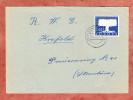 Brief, EF Europa Stilisierter Baum, Kamp-Lintfort Nach Krefeld 1957 (26432) - BRD