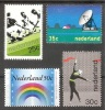 NETHERLANDS  Sport(hockey),space Set 4 Stamps   MNH - Francobolli