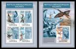 TOGO 2013 - Prehistoric Flying Reptiles - YT 3260-3 + BF675; CV = 32 € - Prehistorisch